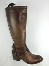 Freebird Womens Brown Leather Knee Boots 10