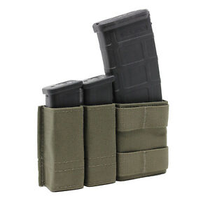 Esstac KYWI 1+2 Side by Side Magazine Pouch - Ranger Green - Made in USA