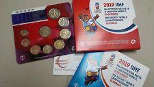 2019 8 monete 3,88 euro SLOVACCHIA Slovaquie Slovakia Slowakei IIHF Ice Hockey