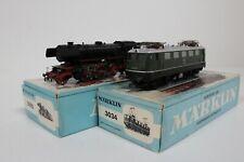 8135/12- Märklin H0 Elektrolok 3034 und Diesellok 3021 inkl OVP