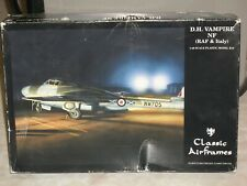 Classic Airframes 1/48 Scale D.H. Vampire NF (RAF & Italy)
