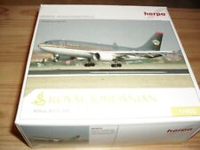 HERPA MINIATURE MODEL - AIRBUS A310 - 300 - ROYAL JORDANIAN -1/500 SCALE  MODEL