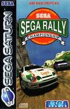 Sega Rally Championship - SEGA Saturn PAL - nur CD + Anleitung