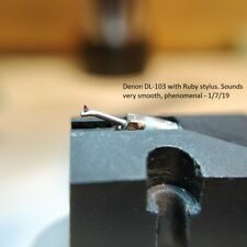 Phono Cartridge Retipping Service. Ruby Elliptical