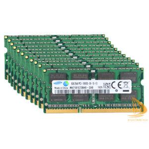 Samsung 80GB RAM 10 X 8GB DDR3 1333MHz PC3-10600S 204PIN SO-DIMM Laptop Memory