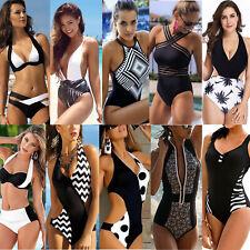 Women Sexy Bikini Monokini Swimwear Swimsuit Beach Swimming Costume Bathing Suit
