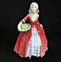 Royal Doulton Janet Figurine HN1537 Retired Bone China Made In England