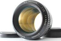 【EXC+5】 Minolta MC Rokkor 58mm f1.2 58 1.2 MD Mount MF Lens From JAPAN