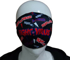 (PACK OF 20)NEW  ADULT/ TEENAGERS SUBLIMATED FACE MASK MADE OF POLYESTER FABRIC