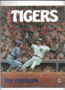 1974 Detroit Tigers Official Yearbook---Al Kaline   EX