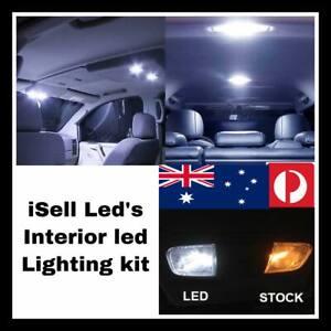 White Interior LED Light Kit for Lexus Is200 11Pieces