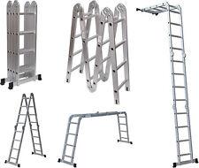 Keraiz® 4.75M Aluminium Ladder Multi Function purpose Scaffold Folding EN131