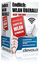 Devolo dLAN500 WiFi/WLan Einzeladapter (Neuware in ungeöffneter Originalverpack.