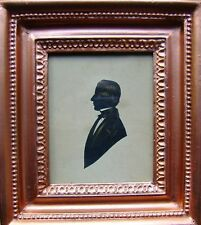 SILHOUETTES ENGLISH SCHOOLYOUNG GENTLEMAN  GILDED FRAME