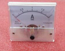 New Analog Panel AMP Current Meter Ammeter Gauge 85C1 0-2A Better Quality K3