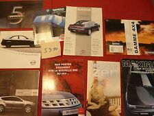 N°5310 / NISSAN : 9 catalogues 1994-2006