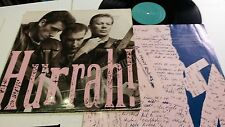HURRAH - Tell God I'm Here 1987 GERMAN PRESS Alt Rock w/ Inner