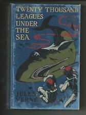 TWENTY THOUSAND LEAGUES UNDER THE SEE  Jules Verne  VG   early printing