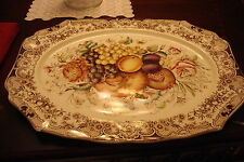 "Vintage large tray Windsor Ware Johnson Brothers. ""Harvest"" pattern[*]"