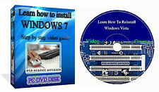 Learn How To Install Repair Restore Windows VISTA 7 8 10 Training Video Course