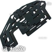 2 Pcs Aluminum Metal Main Frame Black for Trex T-rex 500 Helicopter (GH500-005)