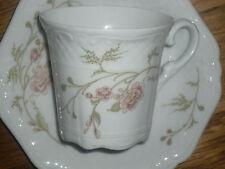 1 Kaffeetasse + Untertasse   Eschenbach  ESCORIAL   Blumenmuster