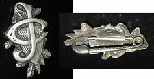 pin spilla distintivo in argento credo svizzera jc neuchatel suisse c j