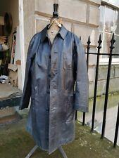 Issey Miyake vintage men's leather 3/4  coat size 4