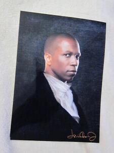 New 5x7 PHOTOGRAPH reprint handsome LESLIE ODOM JR. Aaron Burr HAMILTON signed