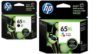 Brand New HP 65XL Tri-Color and Black Ink Set New Genuine Exp 2021+