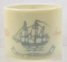 Vintage Early American Old Spice Shaving Mug Ship Friendship 1948- early 1950s