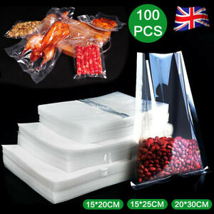 Vacuum Sealer Bags Vac Seal Dry Wet Pack Food Saver Clear Storage Bag 15 * 20cm