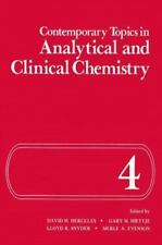 Contemporary Topics in Analytical and Clinical Chemistry (2013, Paperback)