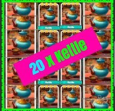 20 x Kettle Coin Master Cards( Fast Delivery!!!)