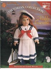 VINTAGE SHADY LANE--VICTORIAN COLLECTION--,MIDDY ENSEMBLE--CROCHET LEAFLET--1997