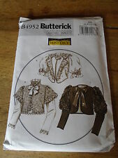 "PATRON ""BUTTERICK COSTUME 3 CORSAGES VICTORIEN   T 34 A 40 N°4952 (AA)"