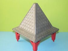 Playmobil Dach grau mit Ständer rot Set komplett  3269*kompabel zu 3268 Gebäude