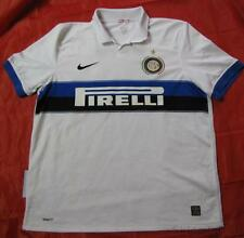 INTER MILAN ITALY jersey by NIKE UNIQUE 2009-2010 /men/white/ XL
