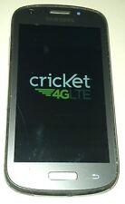 Samsung Galaxy Admire 2 SCH-R830C  4GB  Silver Cricket Smartphone Hairline Crack