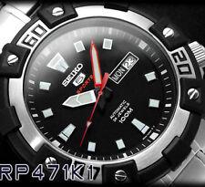 Seiko Automatico SRP471K1 Orologio 24 Jewels Watch Uomo Nuovo con Box e Garanzia