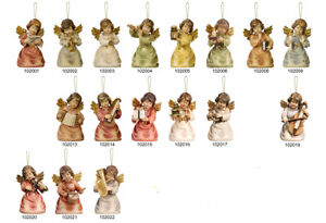 Group Angels Wall 17 Pz. Wooden Metallic Oily Steel Favours - 17 Pcs