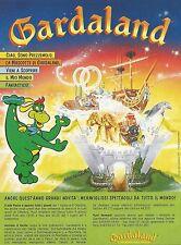 X2174 Gardaland - Mascotte Prezzemolo - Pubblicità 1994 - Advertising
