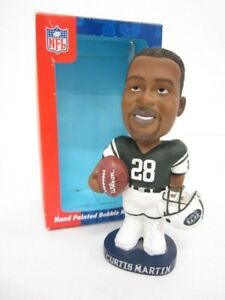 Curtis Martin New York Jets Bobble Dobbles Limited Ed Numbered Bobblehead w/box