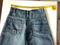 Mens / Boys Billabong Blue Denim Shorts, Size 14, 100% Cotton