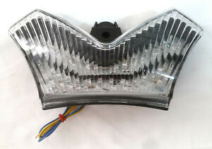 Clear Integrated LED Tail Light DMP 905-4709 For 06-21 ZX14