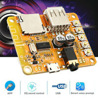 USB Wireless bluetooth 4.2 Audio Speaker Receiver Module Amplifier Board Parts