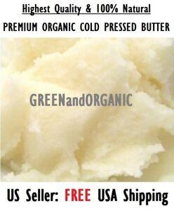 4oz Premium Organic LEMON BUTTER 100%Pure RAW Fresh Natural Cold Pressed 1/4Lb