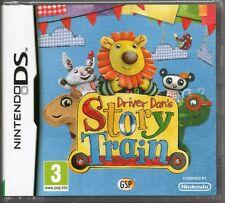 DRIVER DAN'S: STORY TRAIN GAME DS DSi Lite 3DS (dan dans) ~ NEW / SEALED