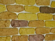 SET 7 MOLDS concrete Stone WALL COVERING FACING mould  FIREPLACE #W15