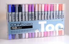 Too Copic CIAO 72pc Set B 72B 72Colors Artist Markers Anime Comic Japan